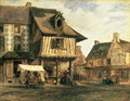 Market Place in Normandy, c.1832 - Theodore Rousseau