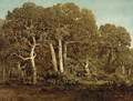 The Great Oaks of Old Bas-Breau, 1864 - Theodore Rousseau