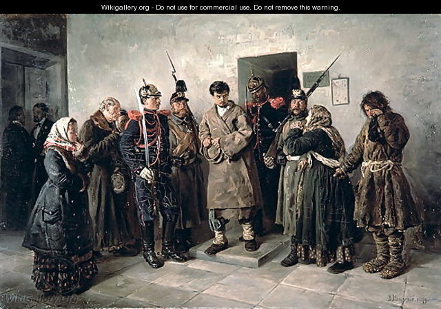 The Condemned, 1879 - Vladimir Egorovic Makovsky