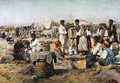 The Fair in Poltova - Vladimir Egorovic Makovsky