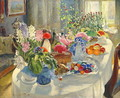 Easter Table - Aleksandr Vladimirovich Makovsky