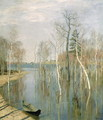 Spring, High Water, 1897 - Isaak Ilyich Levitan