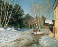 Winter Landscape, 1895 - Isaak Ilyich Levitan