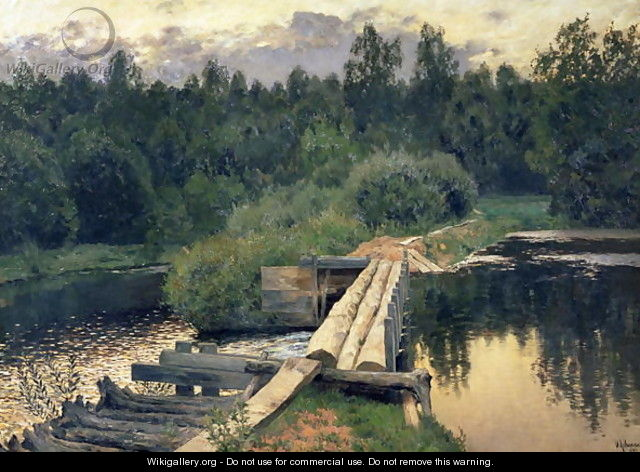 At the Shallow, 1892 - Isaak Ilyich Levitan