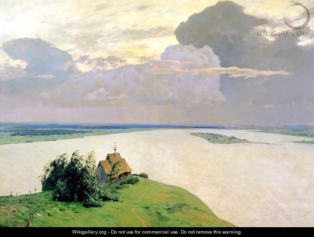 Above the Eternal Peace, 1894 - Isaak Ilyich Levitan