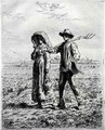 Setting off for Work, 1863 - Jean-Francois Millet