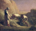 The Hay Trussers, 1850-51 - Jean-Francois Millet