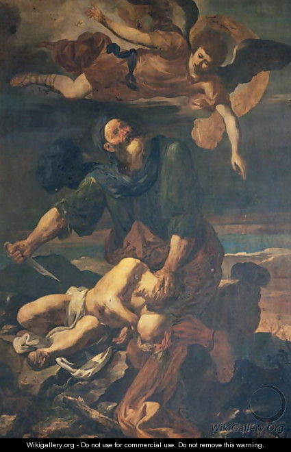 The Sacrifice of Isaac - Pasquale Chiesa