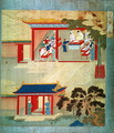 Civil Service Exam Under Emperor Jen Tsung (fl.1022) from a history of Chinese emperors - Anonymous Artist