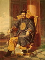 Portrait of Tchien Lung Emperor, 1793 - Anonymous Artist