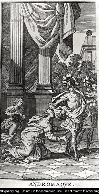 Andromache at the Feet of Pyrrhus, from