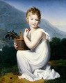 Young Girl Eating Cherries - Jeanne-Elisabeth Chaudet