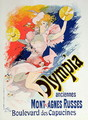 Poster advertising 'Olympia', Boulevard des Capucines, 1892 - Jules Cheret