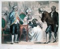 Parmentier presents the potato to Louis XVI and his family - Albert Chereau
