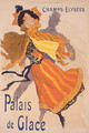 Poster advertising the Palais de Glace, Champs Elysees - Jules Cheret