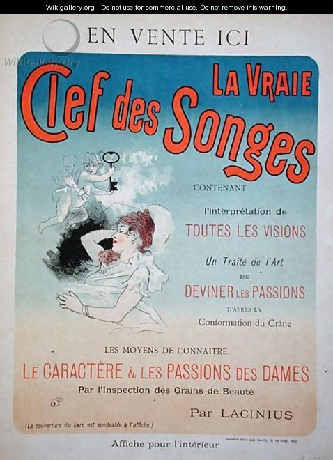 Poster advertising the book