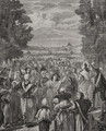 The Women march on Versailles, 5th-6th October 1789 - H. de la Charlerie