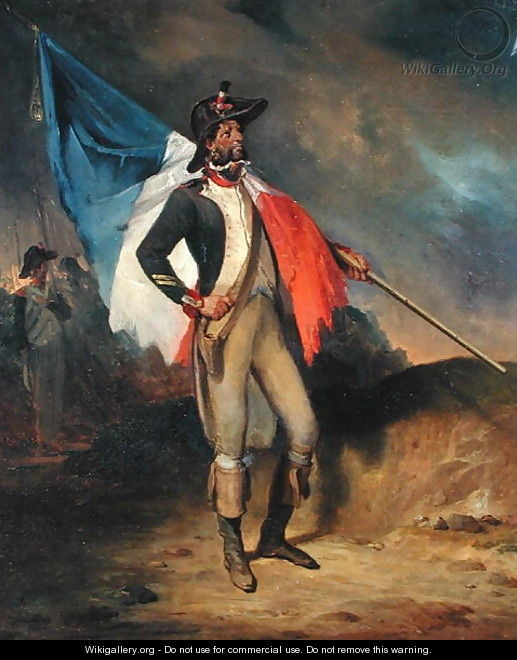 A Soldier of the Republic - Nicolas Toussaint Charlet