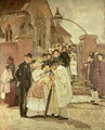 Christening Sunday (South Harting, Sussex) 1887 - James Charles