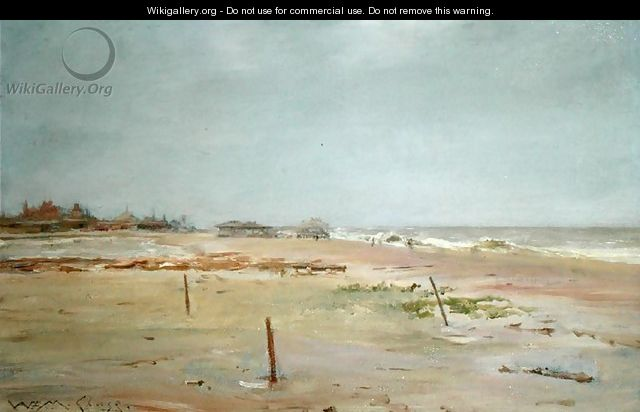 Beach Scene - William Merritt Chase