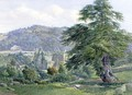 Tintern Abbey with the Wye Beyond - John Chase