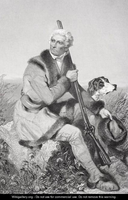 Portrait of Daniel Boone (1734-1820) - Alonzo Chappel