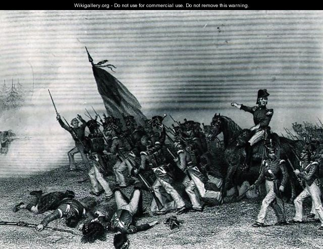 The Battle of Chippewa, General Scott Ordering the Charge of McNeil