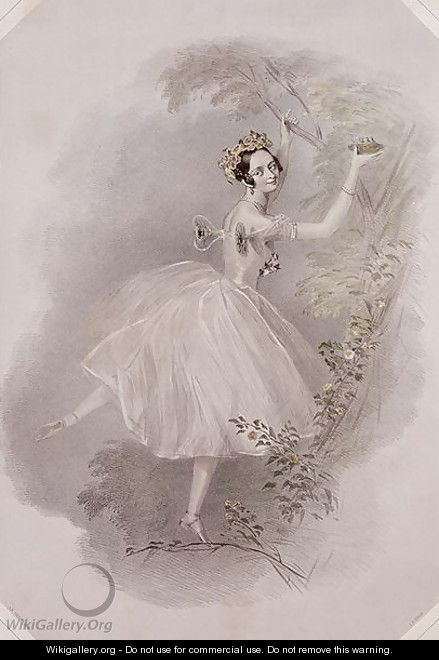 Marie Taglioni (1804-84) as the Sylph in