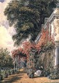Garden Front of Mr. Robert Vernon's House at Twickenham - John James Chalon