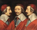 Triple Portrait of the Head of Richelieu, 1642 - Philippe de Champaigne
