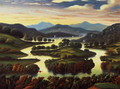 Landscape (possibly New York State) c.1850 - Thomas Chambers
