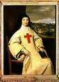 Mother Angelique Arnauld (1591-1661) Abbess of Port-Royal, 1654 - Philippe de Champaigne