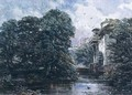 Stream and Water Mill - George Cattermole