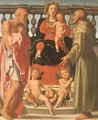 Madonna and Child with SS. Jerome and Francis - Mirabello Cavalori (Salincorno)