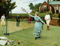 Tennis Players, 1885 - Horace Henry Cauty