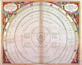 Tycho Brahe's System, one of a series from 'The Celestial Atlas, or the Harmony of the Universe' - Andreas Cellarius