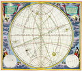 Map Charting the Movement of the Earth and Planets, from 'The Celestial Atlas, or The Harmony of the Universe' - Andreas Cellarius