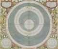Ptolemaic System, from 'The Celestial Atlas, or The Harmony of the Universe', 1660-61 - Andreas Cellarius