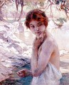 Girl by a Stream - Paul Chabas