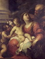 The Holy Family - Valerio Castello