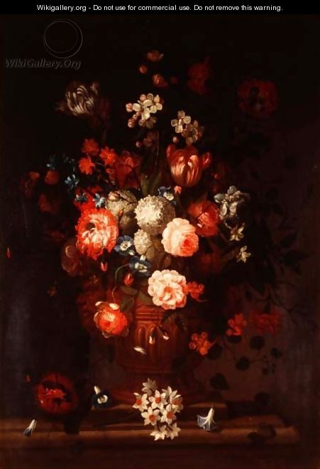 Still life, mixed flowers - Pieter Casteels