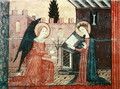 The Annunciation, from the altar frontal of 'The Virgin with Roses', c.1350 - Anonymous Artist