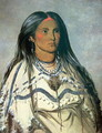 'Mint', a Mandan Indian girl, 1832 - George Catlin