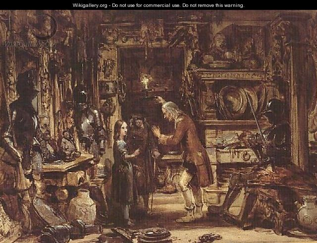The Old Curiosity Shop - George Cattermole
