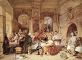 Dinner in the Great Hall - George Cattermole