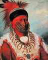 'White Cloud', Head Chief of the Iowas, 1844-45 - George Catlin