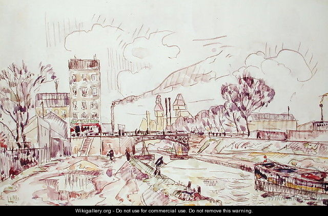 Paris - Pantin - Paul Signac