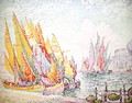Venice, Sailing Boats, 1908 - Paul Signac
