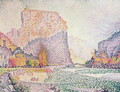 The Cliffs at Castellane, 1902 - Paul Signac