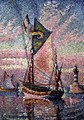 The Port at Concarneau - Paul Signac